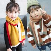 兒童秋冬季圍巾男童女童韓版嬰兒針織毛線保暖寶寶仿羊絨圍脖加厚   蜜拉貝爾