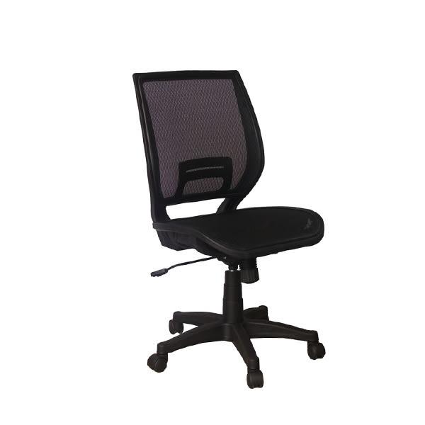 【YUDA】HT-024-01B 無扶手 全網椅 黑 辦公椅/電腦椅