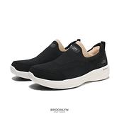 SKECHERS 健走鞋 GO WALK STABILITY 黑 編織 固特異底 女 (布魯克林) 124611BKW