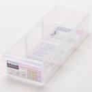 FINE 隔板整理盒 0.95L LF3004 26.6x9x5.7cm
