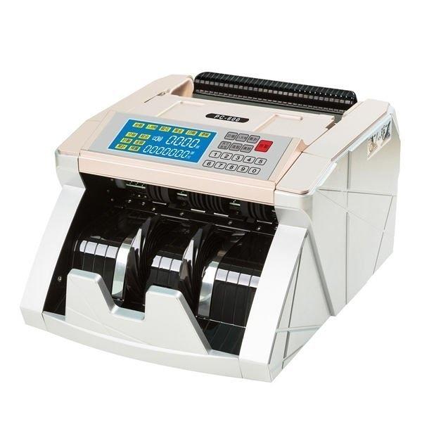 【含運含稅】POWER CASH PC-600(六國幣別/台幣/人民幣/美金/歐元/日幣/ 港幣) 頂級點驗鈔機/點鈔機
