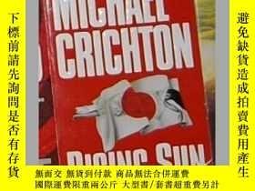 二手書博民逛書店英文原版罕見Rising Sun [ Michael Crich