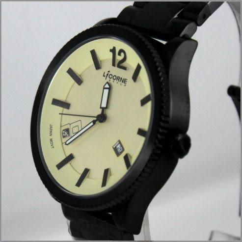 【萬年鐘錶】 LICORNE力抗錶 時尚潮流錶 LI026MBYI