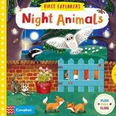 First Explorers:Night Animals 小小探險家:夜間動物 推拉硬頁書