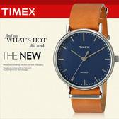 TIMEX 美國第一品牌 Waterbury INDIGLO 夜光指針錶 天美時 學院風 文青 TW2P97800
