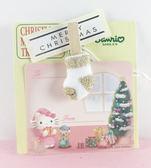 【震撼  】Hello Kitty 凱蒂貓聖誕留言紙卡kitty 圖案