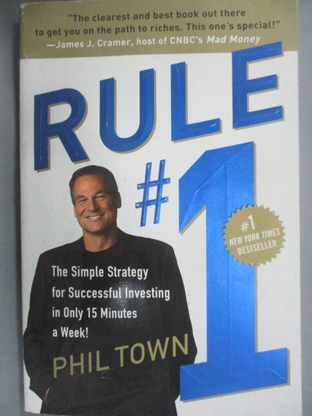 【書寶二手書T1/原文小說_XFY】Rule #1-The Simple Strategy for..._Town, Phil