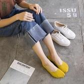 船襪女 夏季薄款硅膠防滑純色淺口襪子女短襪 純棉低幫女士隱形襪