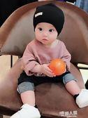 秋冬季新生兒嬰兒針織純棉兒童套頭帽胎帽男女寶寶帽子小孩潮  9號潮人館