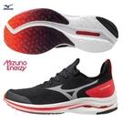 MIZUNO WAVE RIDER 24 NEO 男鞋 慢跑 路跑 ENERZY中底 G3大底 黑 紅【運動世界】J1GC207802