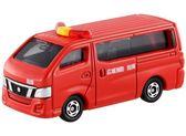 TOMICA NO.027 NISSAN NV350 CARAVAN FIRECHIEF CAR 日產消防指揮車 多美小汽車