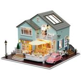 智趣屋diy小屋皇后小鎮手工房子模型拼裝別墅送女孩玩具創意男生XSX