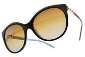 Tiffany&CO.偏光太陽眼鏡 TF4133 8134T3 (琥珀棕-漸層棕) 經典愛心款 # 金橘眼鏡