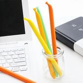 【BlueCat】彎曲黃香蕉魔力擦擦筆 水性筆 中性筆 擦擦筆