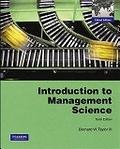 二手書博民逛書店 《*Introduction to Management Science》 R2Y ISBN:9780132457576│BernardW.