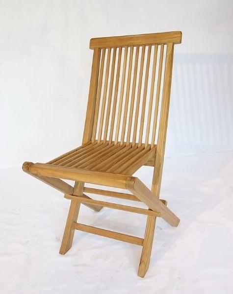 【南洋風休閒傢俱】戶外休閒椅系列-柚木折合椅  戶外實木椅  戶外折合餐椅 (#06T)