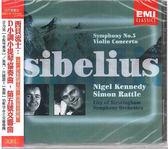 【正版全新CD清倉 4.5折】Sibelius: Symphony No.5/Violin Concerto
