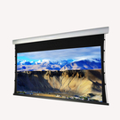 KAMAS卡瑪斯100吋16:9 高平整張力幕電動投影布幕 流線精緻白色鋁外殼 4K高階劇院等級 原廠2年保固
