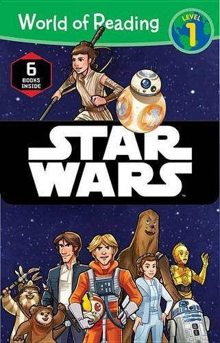 【STAR WARS 星際大戰系列讀本】STAR WARS BOX SET/WORLD READING L1 /6本書
