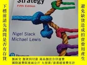 二手書博民逛書店Operations罕見strategy 5thY179641 Nigel Slack Pesrson ISB