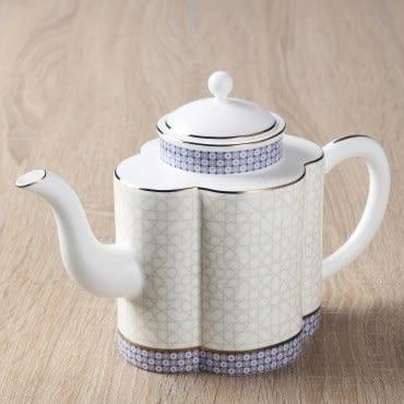 勞倫斯骨瓷如意咖啡壺