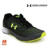 【UA Under Armour】男款慢跑鞋 Bandit -黑/螢光綠(3020319006)全方位慢跑概念館