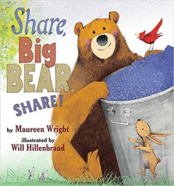 【麥克書店】SHARE, BIG BEAR, SHARE!/ 平裝繪本《主題: 品格教育》