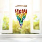 風鈴 日式古風掛飾捕夢網臥室室外掛件鈴鐺創意晴天娃娃生日禮物風鈴