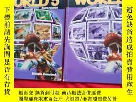 二手書博民逛書店Wonderfui罕見WORLD5【WORKBOOK、PUPILS BOOK】2本合售Y179070 Wond