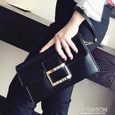 手拿包 手包鍊條斜背信封包韓版時尚百搭氣質手拿包 Ifashion