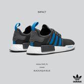 IMPACT Adidas NMD_R1 深灰 藍 女鞋 休閒鞋 休閒 百搭 經典 輕量 運動 慢跑 舒適 D96688