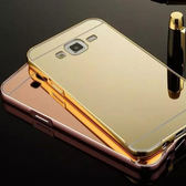 【SZ14】J7 2017手機殼 鏡面框+推拉背板 J5 2017手機殼 j7 2016手機殼 j510手機殼 鋁合金邊框