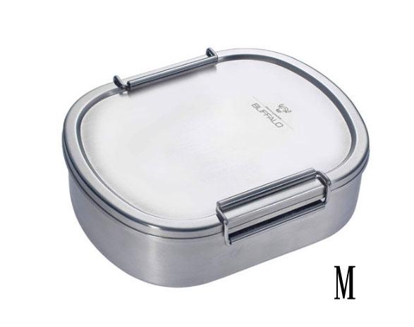牛頭牌 雅登便當盒 304不鏽鋼飯盒 中M 餐盒 餐具 便當盒