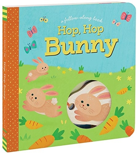 A Follow-Along Book:Hop,Hop Bunny 小兔的花園探險 遊戲操作書