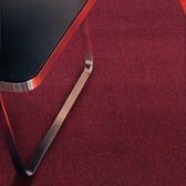 華爾街素面地毯156x210紅