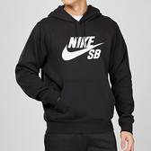 Nike SB Icon Hoodie 男子 黑色 運動 健身 連帽 長袖 上衣 AJ9734-010