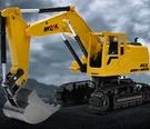 挖掘機玩具 控無線電動合金挖掘機挖土機仿真工程鏟車模型兒童充電玩具【快速出貨八折搶購】