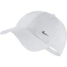 NIKE Metal Swoosh H86 帽子 遮陽 休閒 金屬小勾 可調式 白【運動世界】943092-100