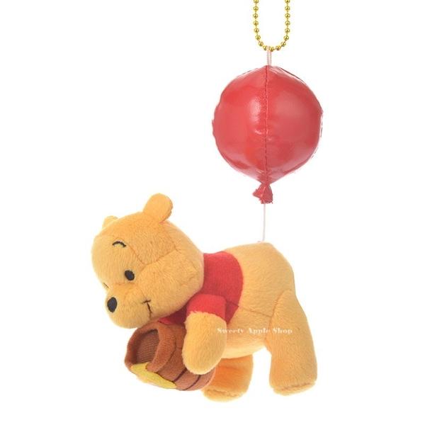 日本 Disney Store 迪士尼商店 限定  小熊維尼 BALOON Color of Pooh  氣球版 珠鍊吊飾 玩偶娃娃