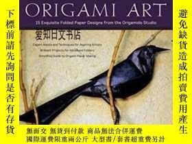 二手書博民逛書店【罕見】Origami Art:15 Exquisite Fol