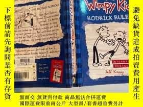 二手書博民逛書店diary罕見of a wimpy kid 一個懦弱的孩子的日記Y200392
