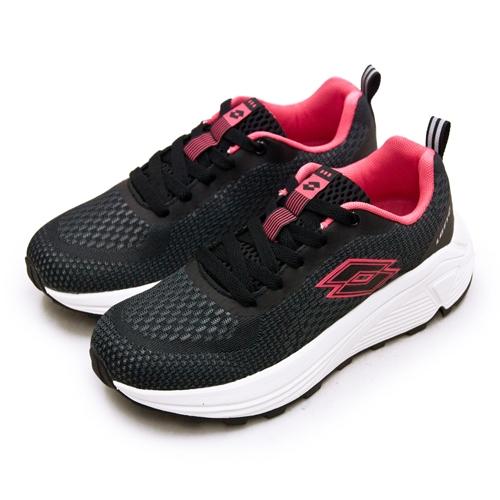 LIKA夢 LOTTO 專業美型穩定健走鞋 NUBE系列 灰紅棕 2510 女