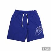 NIKE 男 短褲 AS M NSW SPE WVN SHORT ALUMNI 刺繡 網眼 透氣 吸濕 排汗-DB3811455