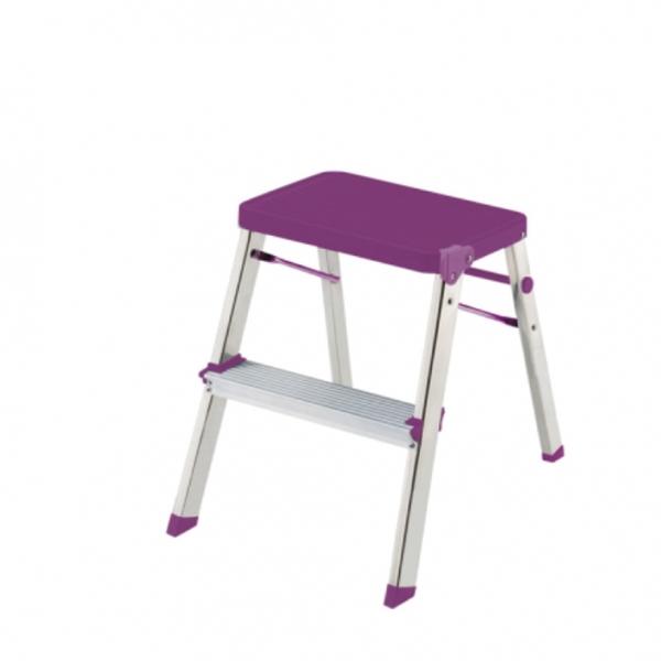 ROLSER 時尚萬用梯(紫) 小-HOME WORKING