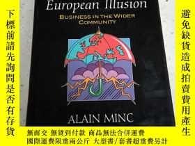 二手書博民逛書店the罕見great european illusion.(英文