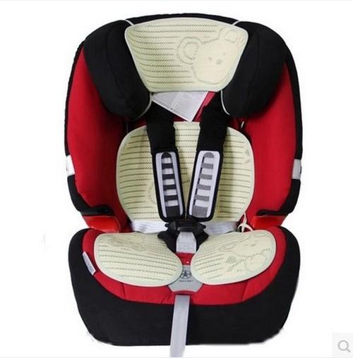 汽座涼蓆 亞草竹炭安全汽座涼墊 透氣 涼蓆 安全座椅涼墊 DX1235