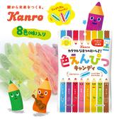 日本 KANRO 甘樂 彩色鉛筆糖 80g 鉛筆造型糖果 鉛筆糖 糖果 水果糖 日本糖果