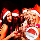 【超取299免運】兒童款-聖誕帽 聖誕節造型帽 化粧舞會造型配件 聖誕老人帽