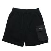 KANGOL 短褲 黑 工裝口袋 短棉褲 男 (布魯克林) 6121150220
