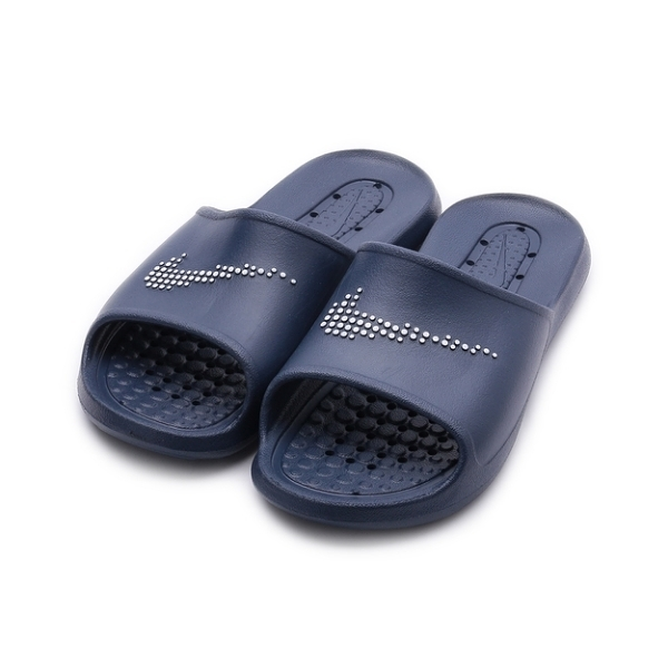 NIKE VICTORI ONE SHOWER SLIDE 運動拖鞋 深藍 CZ5478-400 男鞋